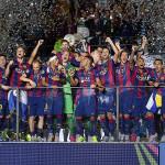 Barcelona monarca de Champions: el cielo sobre Berlín es azulgrana