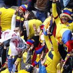 Alcalde de Temuco tira pelotazo en la cabeza a hincha colombiana