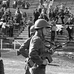 Copa América: tribuna vacía en homenaje a víctimas de Pinochet