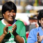 """Evo Morales alaba """"garra"""" de su país ante Ecuador"""