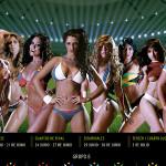 El calendario con las modelos más bellas de la Copa América 2015