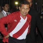 Ollanta Humala alienta a la selección: ¡Sí se puede! ¡Vamos Perú!