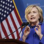 EEUU: Hillary Clinton apela a luchar contra restricciones de acceso al voto