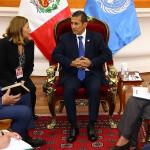 Ollanta Humala se reunió con director de oficina antidrogas de ONU