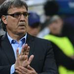 Gerardo Martino suspendido una fecha por expulsión ante Uruguay