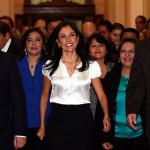 Nadine Heredia niega usurpación de funciones y denuncia venganza política