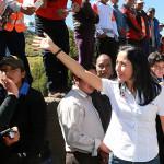 Nadine Heredia: Ruido político no puede ser mayor a los intereses de la patria
