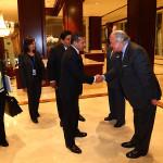 Ollanta Humala llega a Bruselas para Cumbre Celac-UE