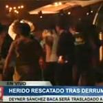Oyón: muere joven rescatado de accidente en miniván (VIDEO)