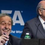 FIFA: Michel Platini ve correcta y valiente la decisión de Joseph Blatter