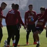 Selección reconoció el Estadio Nacional de Santiago