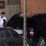 Cristiano Ronaldo es captado miccionando en la calle