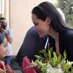 Angelina Jolie visita campo de refugiados sirios en Turquía