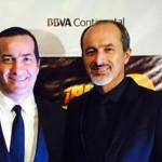 Carlos Alcántara en estreno de Asu Mare 2 en Chile