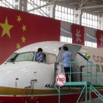 China fabrica sus primeros aviones eléctricos de pasajeros