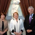 Chile: Bachelet nombra nuevos ministros de la Presidencia y Educación