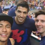 Barcelona se tiñe de azulgrana y recibe a reyes de Champions