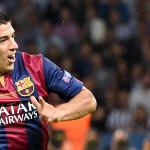 Luis Suárez satisfecho por la goleada a La Coruña