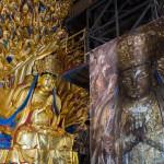China: finaliza restauración de famoso buda de las mil manos