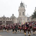 Ministra de Energía y Minas encabeza acto de Cambio de Guardia Montada