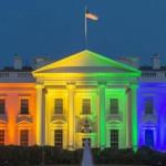 Matrimonio gay: iluminan Casa Blanca con los colores del arco iris