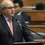 Pedro Cateriano pedirá al Congreso facultades para legislar