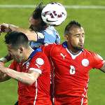 Copa América: las postales del Chile vs Uruguay (FOTOS)