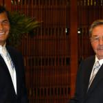 Cuba: apoya a Correa y rechaza injerencia y violencia en Ecuador