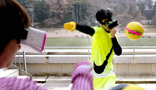 TOKIO.- Dos propuestas deportivas tan exóticas como el uso de un dron como balón o generar un fútbol con visión de 360 grados son dos de las nuevas opciones lanzadas por laboratorio de Japón.