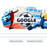 Google dedica doodle a inicio de cuartos de la Copa América