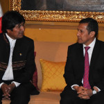 Bolivia: Morales busca pacto con Humala para ferrocarril bioceánico