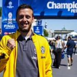Champions League: hincha caminó 1.000 kilometros hasta Berlín
