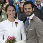 """Suecia: príncipe Carlos Felipe y exmodelo Sofía se dieron el """"sí"""""""