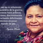 Rigoberta Menchú pide desarrollo alternativo ante desigualdad