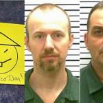 """EEUU: presos de """"fuga del siglo"""" dejan saludos a la policía (Fotos)"""