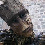Cusco: estudiantes presentan escultura de héroe Groot