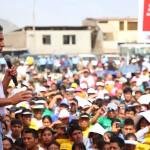 Ollanta Humala: obras con transparencia y sin corrupción