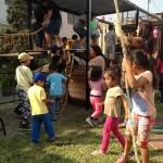 Barrios Altos: inauguran parque temático para niños