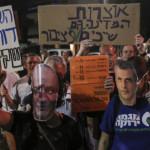 Tel Aviv: miles protestan en contra de explotación del gas natural