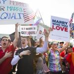 Matrimonio homosexual: apoyo en EEUU alcanza récord de 57%