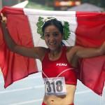 Inés Melchor campeona sudamericana de 10 mil metros