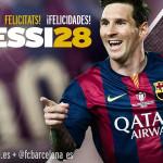 Messi: piden declarar nuevo día del fútbol por su cumpleaños