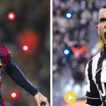 Champions: Messi-Tévez, duelo aparte en la final (INFOGRAFÍA)