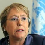 "Italia: Michelle Bachelet sostiene que ""Chile no es un país corrupto"""