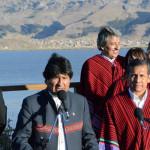 Evo Morales agradeció apoyo del Perú a la demandamarítima