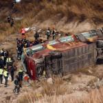 México: 12 muertos y 38 heridos en accidente de autobús