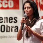 Nadine Heredia crítica propuestas electorales de Alan García