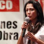 Nadine Heredia: primera dama desmiente cuentas secretas