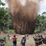 Narcotráfico: destruyen siete aeródromos clandestinos en la selva
