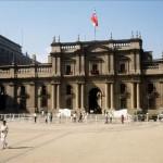 Copa América: exponen fotos frente al palacio de La Moneda